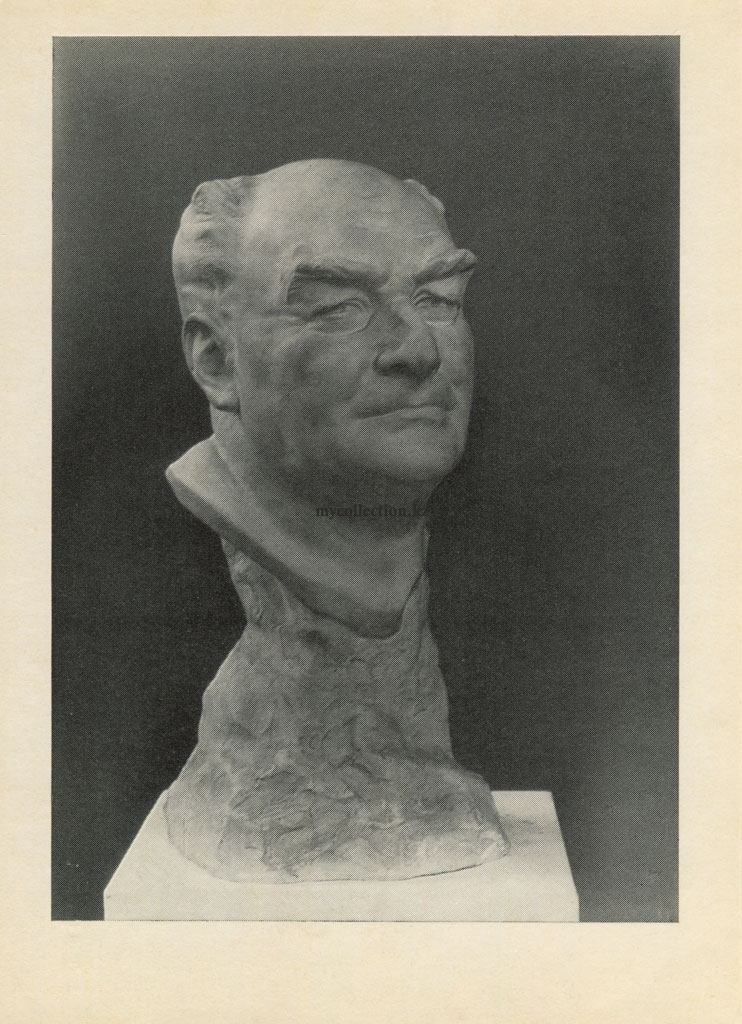 Kazakhstan  sculptor Peter Usachyov - Portrait of the sculptor  Kuchis - 1958.jpg