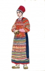 Woman clothes. Vereya, Moscow Province